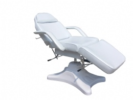 TF62A White Hydraulic Tattoo Chair tattoo bed