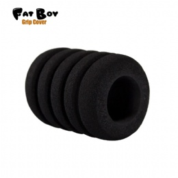GT52 Fatboy black memory foam grip cover